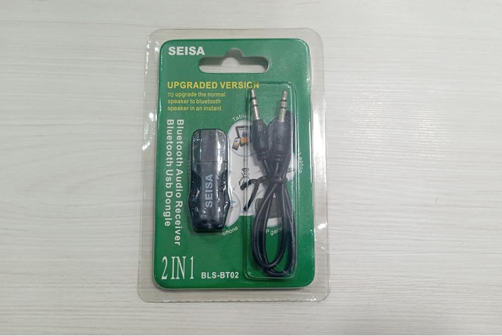 Adaptador Bluetooth Seisa 2 en 1