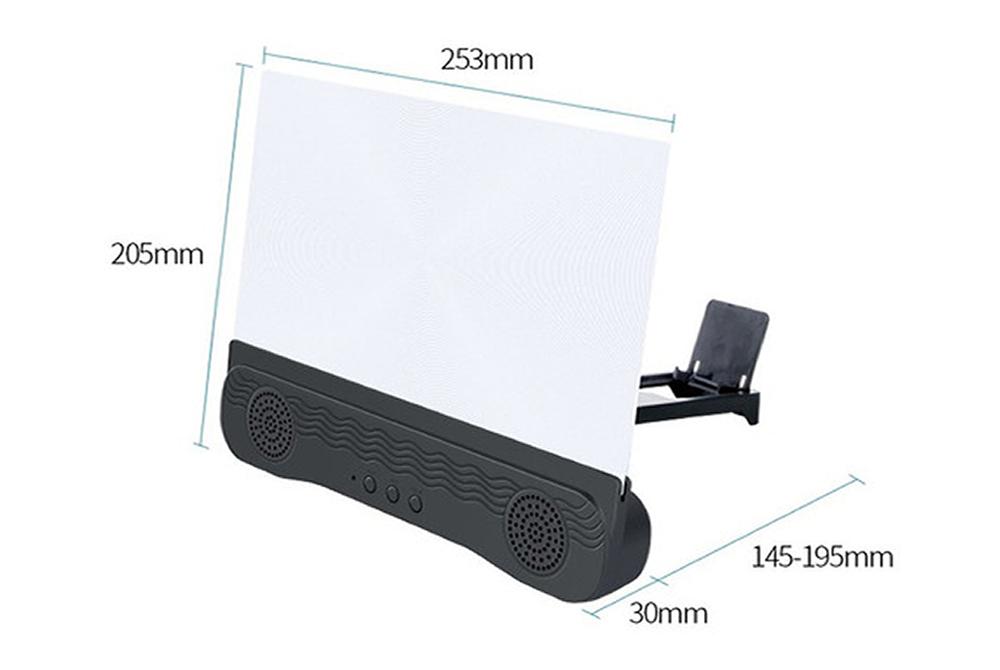 Amplificador de Pantalla de 12 Pulgadas Seisa SM-K8 con Parlante Bluetooth
