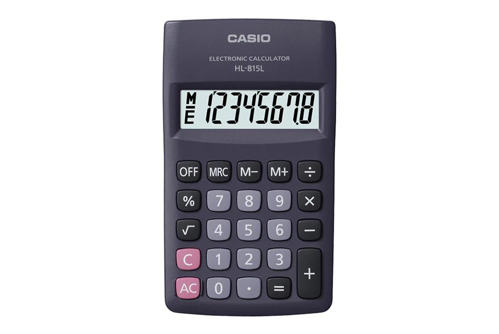 Calculadora 8 Digitos HL-815L Casio