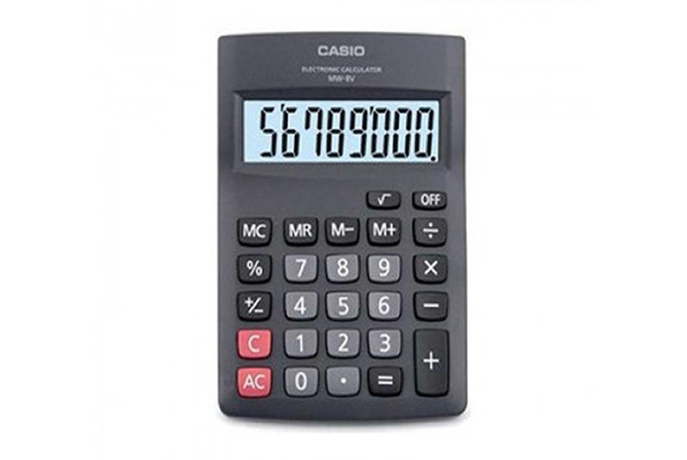 Calculadora 8 Digitos Casio MW-8V