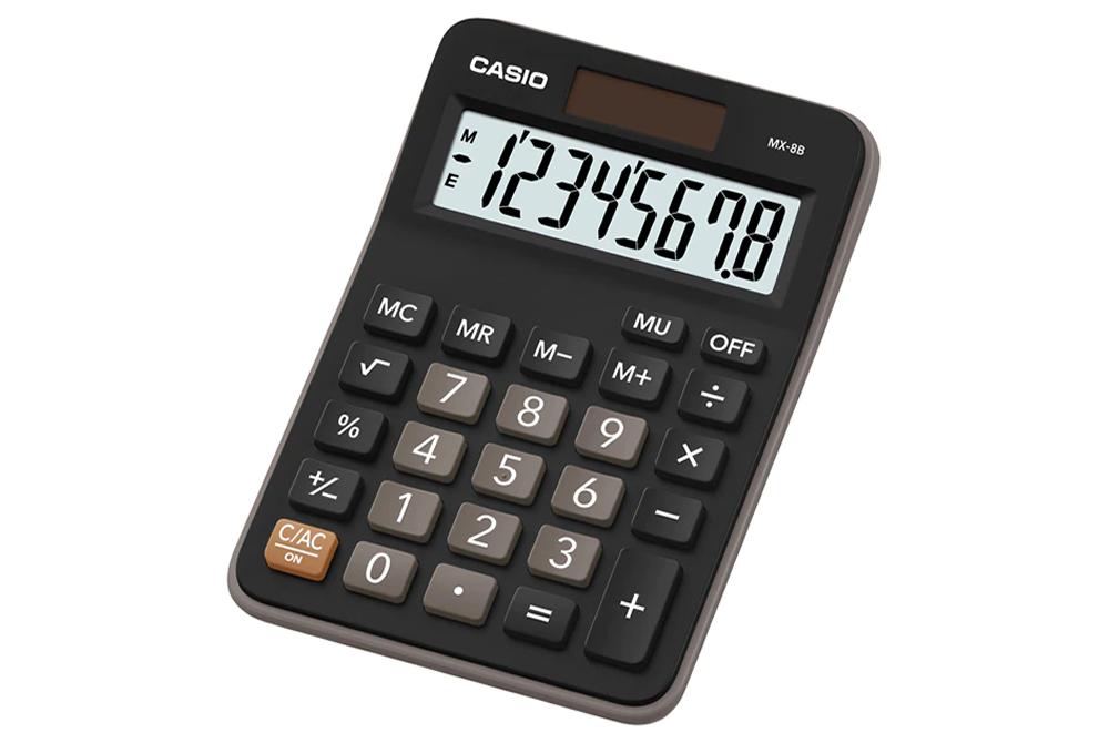 Calculadora 8 Digitos Casio MX-8B