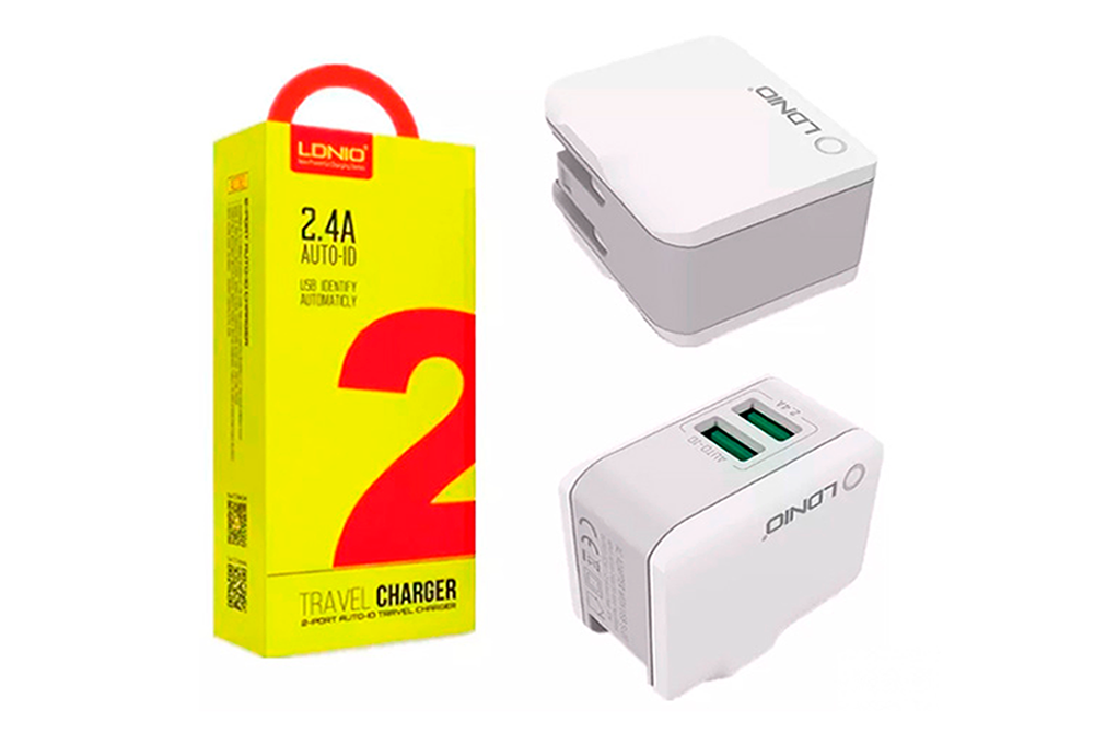 Cargador Ldnio A2203 con 2 Puertos USB 2.4A