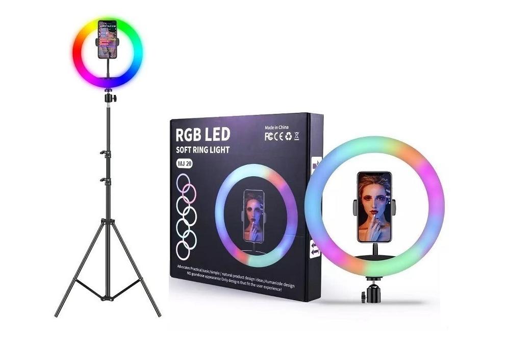Aro de Luz RGB de 30 cm y Tripode