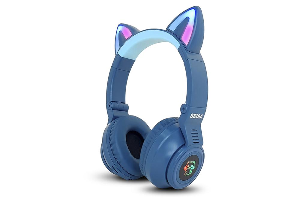 Audífonos Bluetooth Seisa EJ-S26 Gato