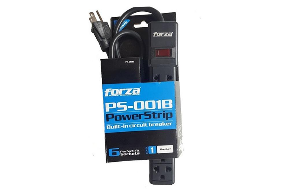 Supresor de Picos Forza PS-001B 6 Tomas